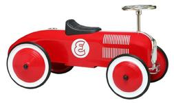 Morgan Cycle Stripe Racer Foot to Floor Childs Ride On Car,
