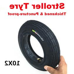 Stroller Tire 10x2 Cover Tyre 54-152 for Tricycle Buggy Bike