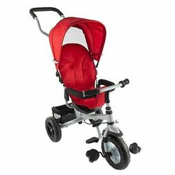 Stroller Tricycle 4 in 1 Kids Baby Toy Bike Detachable Canop