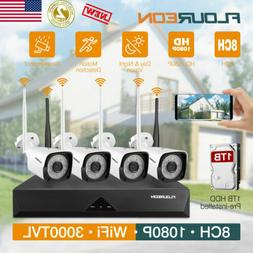 1080P WiFi Home Security Camera System Wireless Outdoor Nigh