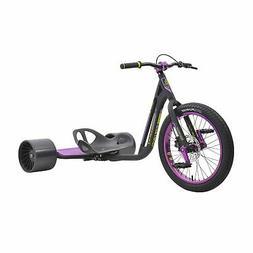 TRIAD Syndicate 3 Drift Trike Tricycle, Black/Purple