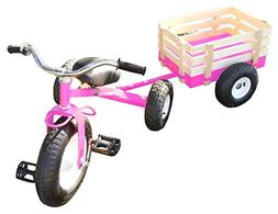 All Terrain Tricycle with Wagon , #CART-042P