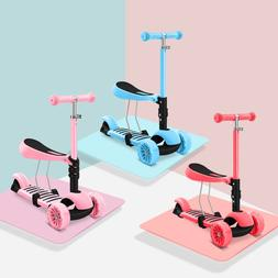 The newest 3 in 1 Scooter for children baby walker removable