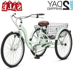 THREE WHEEL CRUISER BIKE Adult Tricycle Bicycle 3 Tire Seat