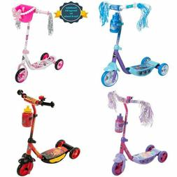 Huffy Three-Wheel Preschool Scooter Stable With Beverage Hol