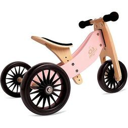 Kinderfeets Tiny Tot PLUS 2-in-1 Balance Bike and Tricycle,