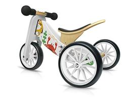 Kinderfeets TinyTot MakiiWooden Balance Bike and Tricycle in