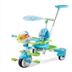 ❤ Toy Kids Ride On Vtech 4-In-1 Stroll & Grow Tek Trike Ou