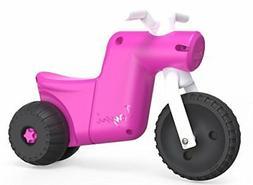 YBIKE Toyni Tricycle Balance Bike, Pink