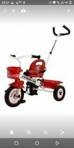 Radio Flyer Tricycle Kids 3 Wheeler Trike Grow N Go Red Ridi