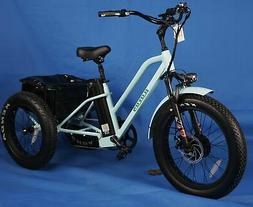 Tricycle-Adult Fat Tire Electric Trike
