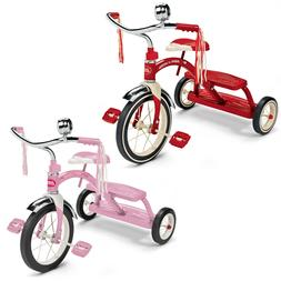 "Tricycle Children Classic Red Pink Girls Boys 12"" Front Whee"