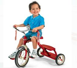 Radio Flyer Tricycle Classic Retro Dual Deck  Red or Pink  1