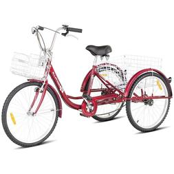 Tricycle For Adults Adult Trike Single Speed Three Wheeled B