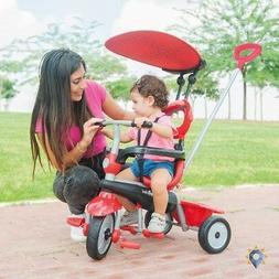 Tricycle For Kids Stroller Push Trike 4.1 4In1 3 Wheels Bask
