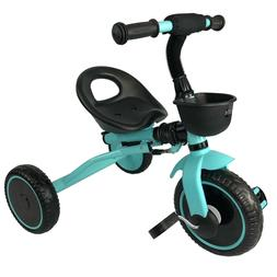 Tricycle Kids 3 Wheel Trike Foldable for 2 3 4 5 Year Old To