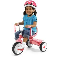 Tricycle Kids Bike Vintage Radio Flyer Pink Folding Toddler