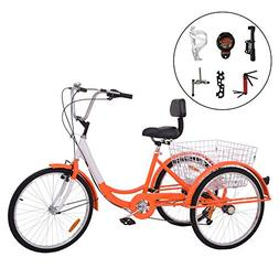 Barbella 7 Speed Adult Tricycle Three-Wh