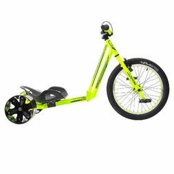 Trike Bike Triad Drift BMX Street Yellow  Front Handle Bars