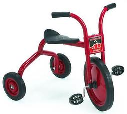 Angeles 14 in. Trike in Red and Black - Set of 2