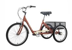 Raleigh Tristar 3-speed red adult tricycle