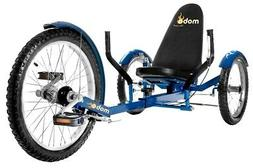 Mobo Triton Pro Adult Recumbent Trike. Pedal 3-Wheel Bicycle