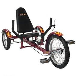 Mobo Triton The Ultimate Three Wheeled Cruiser 16""