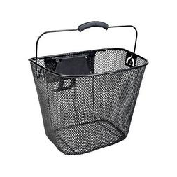 Universal Wire Basket with Quick-Release Mounting Hardware f
