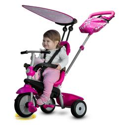 a1f16a96747 smarTrike Vanilla 4 in 1 Ride On Tricycle for kids and toddl