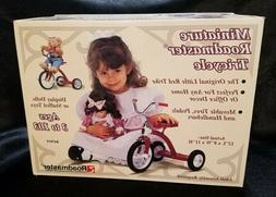 Vintage Miniature Roadmaster Tricycle, NIB - NEVER OPENED, c
