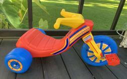 Vintage Plastic Tricycle Pedal Car SUPER WHEELS Vintage TOY
