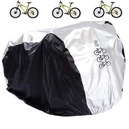 Aiskaer Waterproof Bicycle Cover Outdoor Rain Protector for