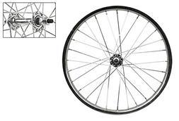 "Wheel Master 18"" x 1.75 Front Bicycle Wheel, 28H, Steel, Bol"