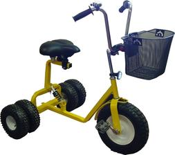 WindRoamer Adult Dually Step-Thru Tricycle All Terrain Tires