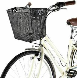 Wire Basket Bikes Quick Release Removable Weather Resistant
