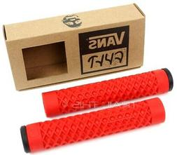 Cult X Vans Flangeless Grips w/ End Plugs Waffle Pattern BMX
